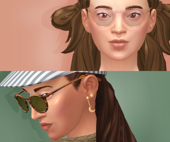 Bateman Glasses at Tamo image 1338 670x558 Sims 4 Updates