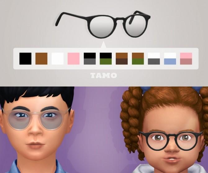 Bateman Glasses at Tamo image 1357 670x558 Sims 4 Updates