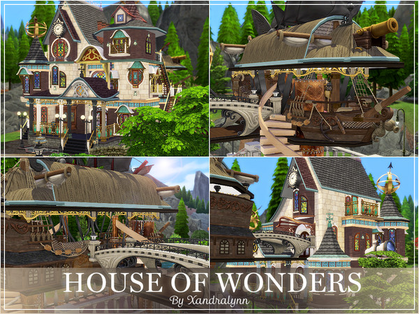 House of Wonders by Xandralynn at TSR image 1359 Sims 4 Updates