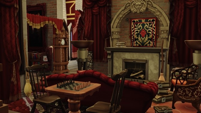 Hogwarts School of Witchcraft and Wizardry at Akai Sims – kaibellvert image 1364 670x377 Sims 4 Updates