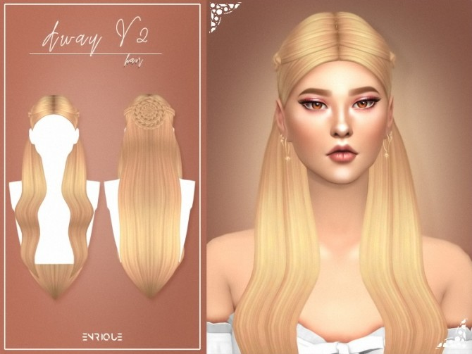 Sims 4 Away Hairstyle V2 at Enriques4