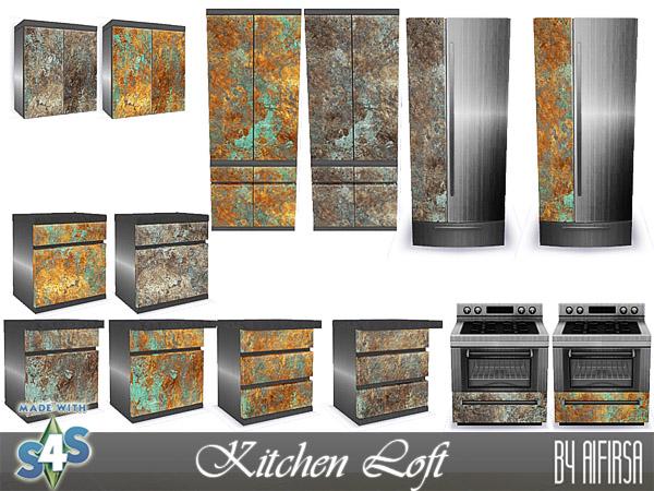 Loft kitchen at Aifirsa image 14510 Sims 4 Updates