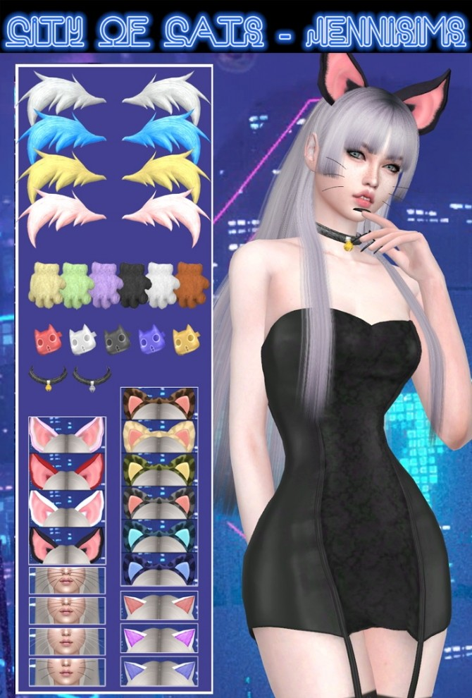 Collection Acc Cats Of City at Jenni Sims image 1456 670x990 Sims 4 Updates