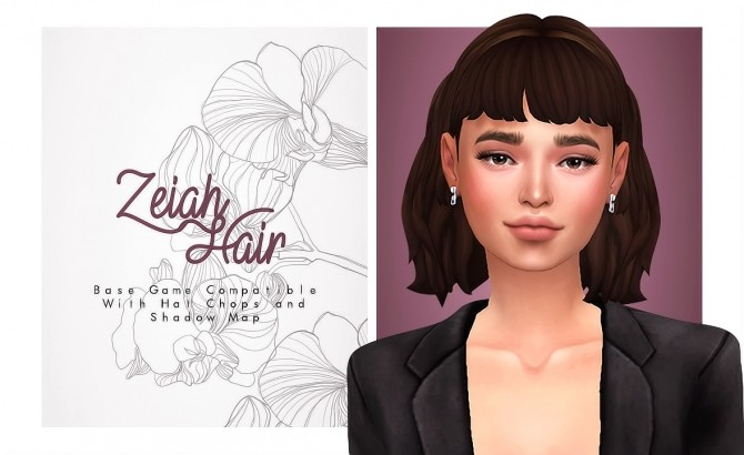 Zeiah Hair at Isjao – working on uni image 1488 670x410 Sims 4 Updates