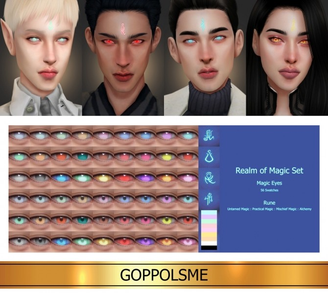 GPME GOLD Realm of Magic Set at GOPPOLS Me image 1494 670x599 Sims 4 Updates