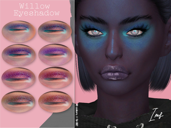 IMF Willow Eyeshadow N.102 by IzzieMcFire at TSR image 1524 Sims 4 Updates