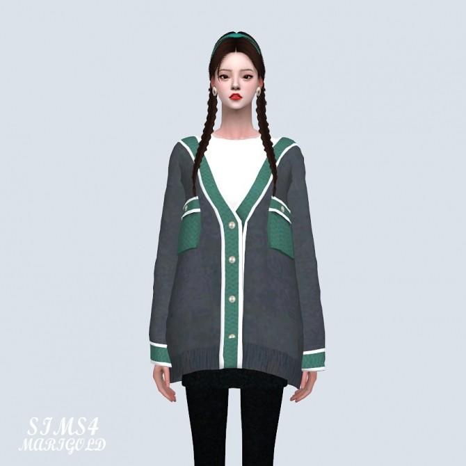 Pocket Loose fit Cardigan (P) at Marigold image 15410 670x670 Sims 4 Updates