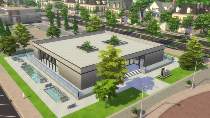 Sims 4 New Life Hospital at ArchiSim