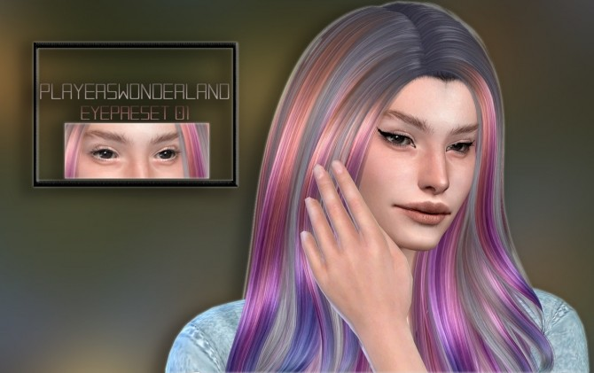 Sims 4 Eyepreset 01 at PW's Creations