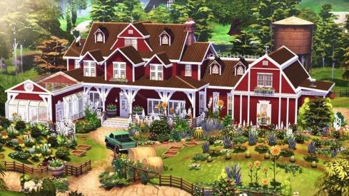 Sims 4 Autumn Farm at BERESIMS