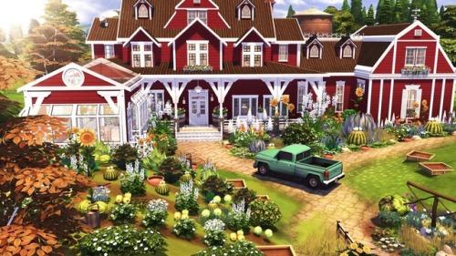 Autumn Farm at BERESIMS image 16411 Sims 4 Updates
