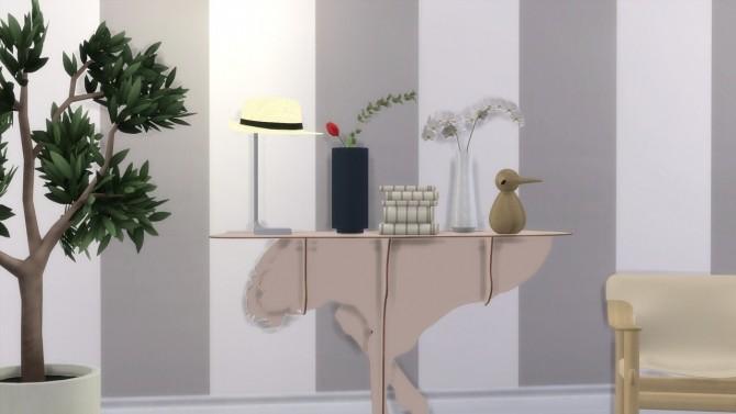 Sims 4 CHAPO TABLE LAMP (P) at Meinkatz Creations