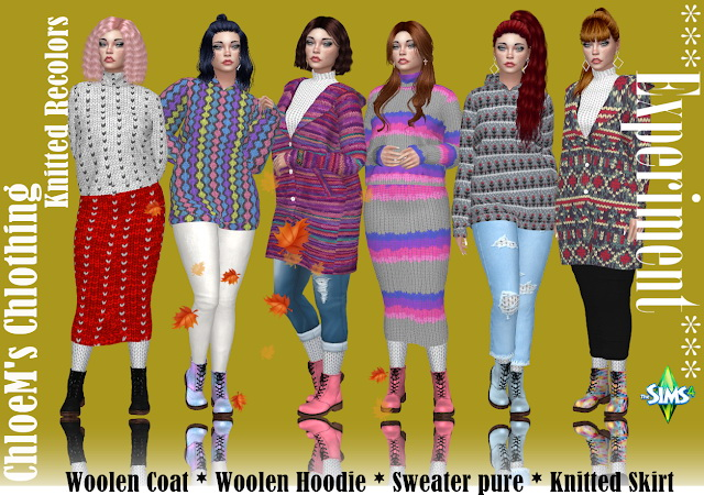 ChloeM's Knitted Recolors at Annett's Sims 4 Welt image 16510 Sims 4 Updates