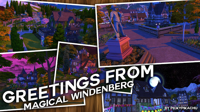 Magical Windenberg World Edit at Pickypikachu image 1656 Sims 4 Updates