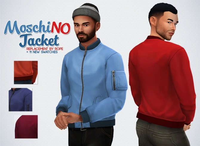 MoschiNO Jacket and Boots at Simsontherope image 167 670x489 Sims 4 Updates