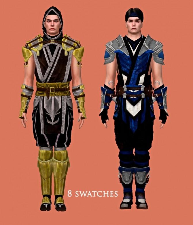 Sims 4 Scorpion & Sub Zero Set at Astya96