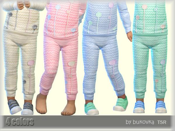 Sims 4 Pants Pompons by bukovka at TSR