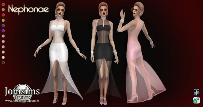 Sims 4 Nephonae dress at Jomsims Creations