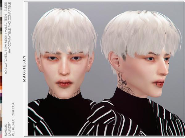 Laundry Hair by magpiesan at TSR image 1747 Sims 4 Updates