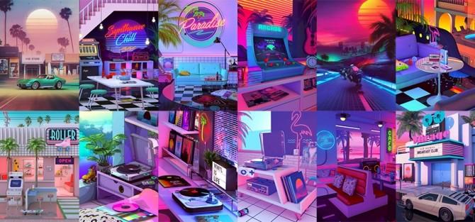 Denny Busyet art at Midnightskysims image 1762 670x313 Sims 4 Updates