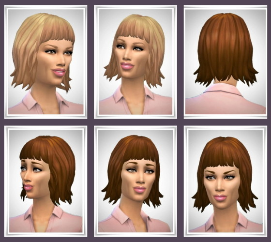 Sims 4 Hairstyles downloads » Sims 4 Updates