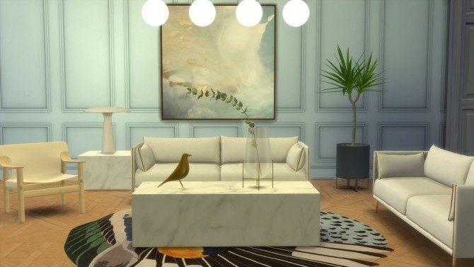 SILHOUETTE SOFA (P) at Meinkatz Creations image 1793 670x377 Sims 4 Updates