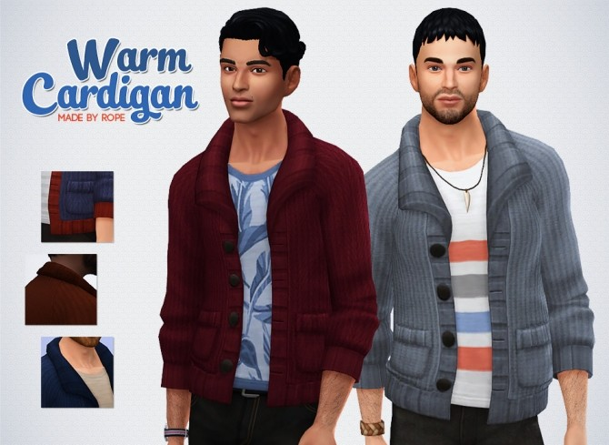 Warm Cardigan at Simsontherope image 18114 670x489 Sims 4 Updates