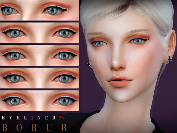 Eyeliner 25 by Bobur3 at TSR image 1814 Sims 4 Updates