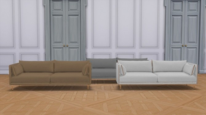 SILHOUETTE SOFA (P) at Meinkatz Creations image 1816 670x377 Sims 4 Updates