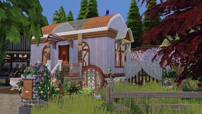 Witchs House & Pet Shop at Akai Sims – kaibellvert image 1824 670x377 Sims 4 Updates