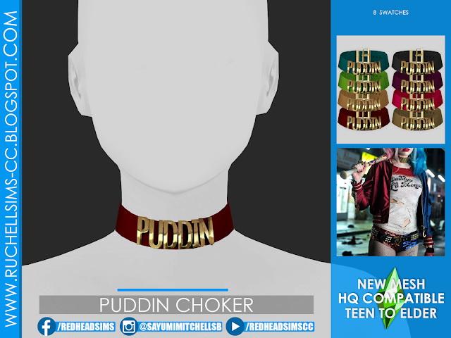 Puddin Choker at Ruchell Sims image 18410 Sims 4 Updates