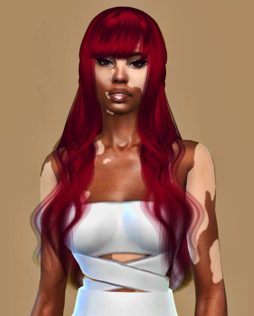 Sims 4 LaFolia Hair Recolor at Teenageeaglerunner