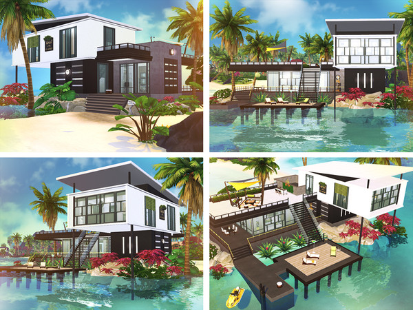 Ejder contemporary house by Rirann at TSR image 1919 Sims 4 Updates