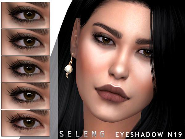 Sims 4 Eyeshadow N19 by Seleng at TSR