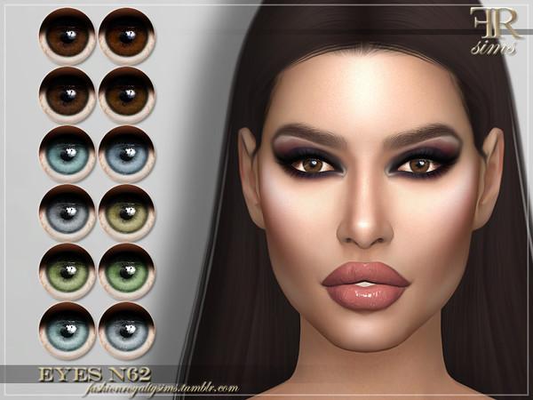 Sims 4 FRS Eyes N62 by FashionRoyaltySims at TSR