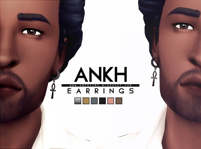 Ankh Earrings at Onyx Sims image 1942 670x497 Sims 4 Updates
