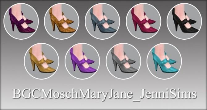 Sims 4 MaryJane shoes at Jenni Sims