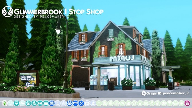 Glimmerbrook Realm of Magic Makeover at Simsational Designs image 1958 670x377 Sims 4 Updates