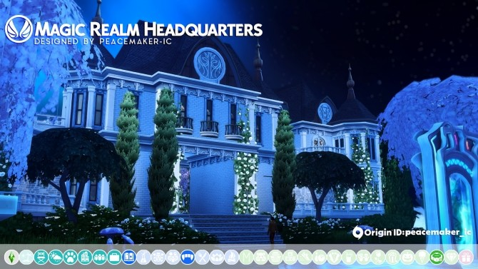 Glimmerbrook Realm of Magic Makeover at Simsational Designs image 1968 670x377 Sims 4 Updates