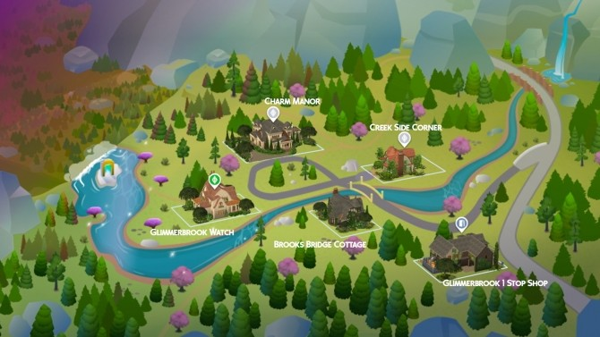 Glimmerbrook Realm of Magic Makeover at Simsational Designs image 1977 670x377 Sims 4 Updates