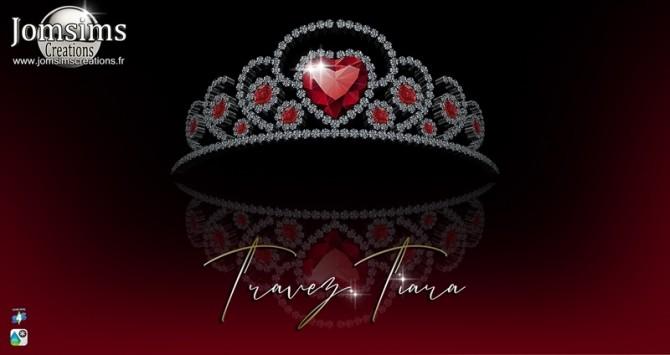 Sims 4 Travez tiara at Jomsims Creations