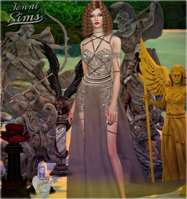Decorative Statues Darkness Falls 11 Items at Jenni Sims image 1994 Sims 4 Updates