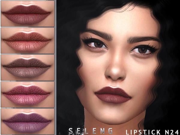 Sims 4 Lipstick N24 by Seleng at TSR