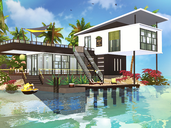 Ejder contemporary house by Rirann at TSR image 2019 Sims 4 Updates