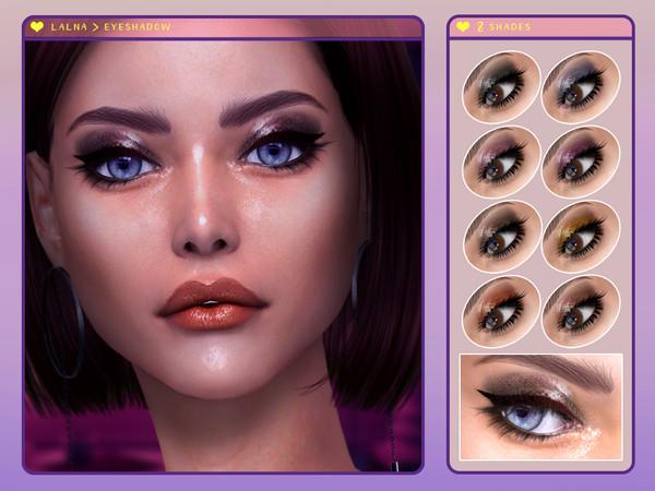 Lalna Eyeshadow by Screaming Mustard at TSR image 2026 Sims 4 Updates