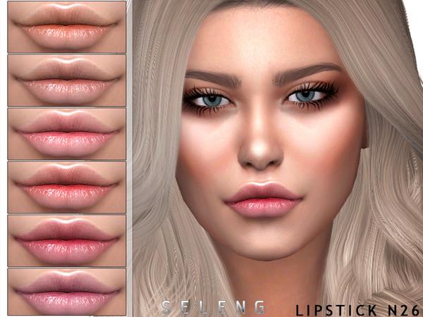 Sims 4 Lipstick N26 by Seleng at TSR