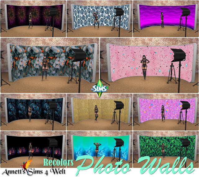 Moschino Stuff Photo Walls Recolors at Annett's Sims 4 Welt image 205 Sims 4 Updates