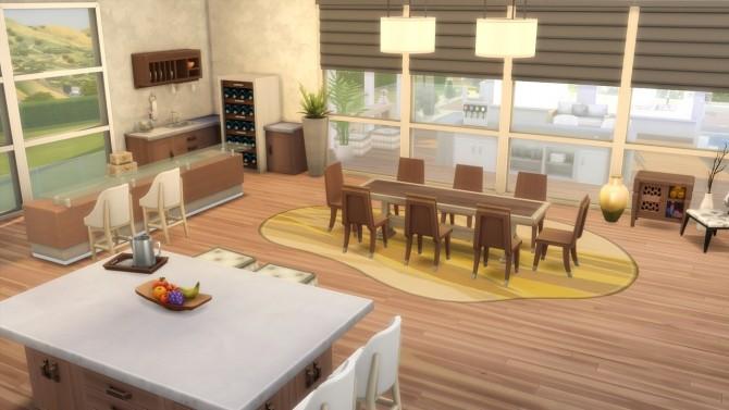 Sims 4 Celebrity Mansion at ArchiSim