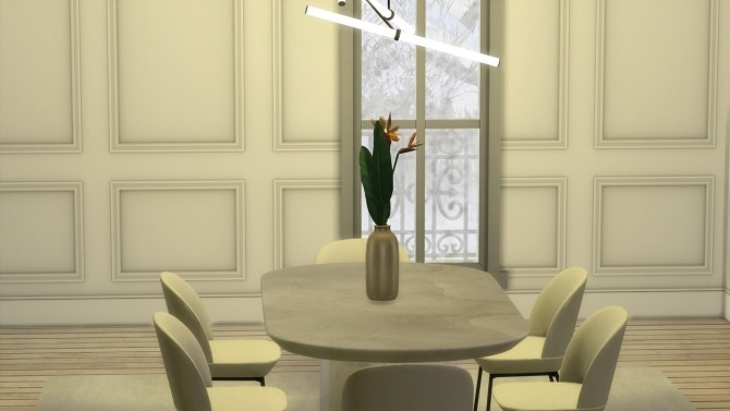 KNIFE EDGE DINING TABLE at Meinkatz Creations image 21011 670x377 Sims 4 Updates