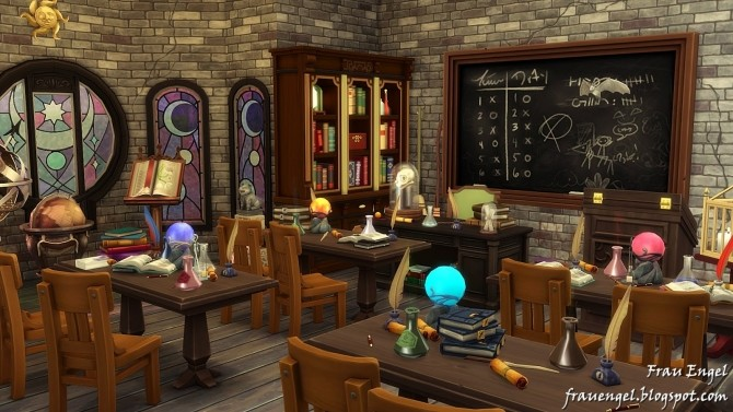 School Of Magic At Frau Engel 187 Sims 4 Updates